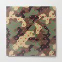CAMO & HOT PINK BOMB DIGGITYS ALL OVER LARGE by characterassassination