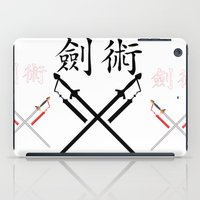 sword iPad Cases featuring China Sword by Littlebell