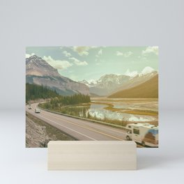 scenic road Mini Art Print