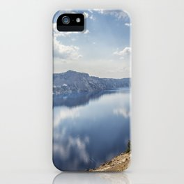 Crater Lake with a view of the Phantom Ship iPhone Case