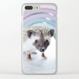Who doesn't Love hedgehogs? Clear iPhone Case