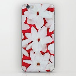 Scattered Jasmine iPhone Skin