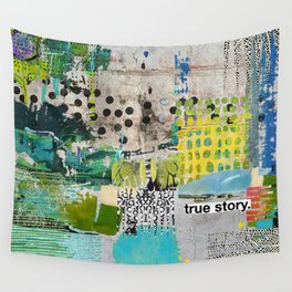 True Story Wall Tapestry