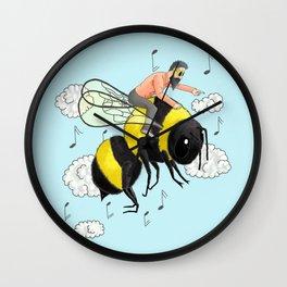 Flight of the Bumblebee by Nicolai Rimsky-Korsakov. Wall Clock
