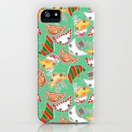 """""""Oro?"""" Christmas MINT iPhone Case"""