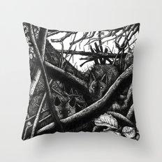 La Tanière. Throw Pillow