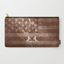 Vintage American Rodeo Carry-All Pouch