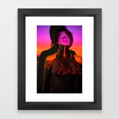 Monumental: Projection Series #5 Framed Art Print