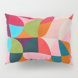 shapes spring colors Pillow Sham