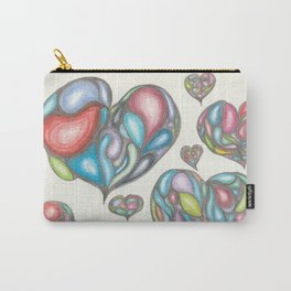 The Colors of Your Heart Carry-All Pouch