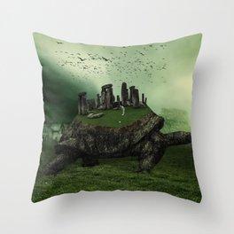 Druid Golf Throw Pillow