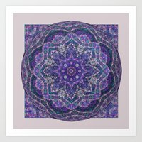 batik Art Prints featuring Batik Meditation  by DebS Digs Photo Art