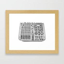 Jx3 Music Series - SIX Framed Art Print