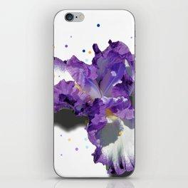 Confetti Iris iPhone Skin