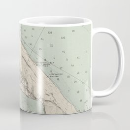 Vintage Map of Provincetown MA (1892) Coffee Mug