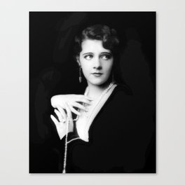 Ruby Keeler by Alfred Cheney Johnston Canvas Print