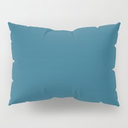 Intrinsic Dark Blue Solid Color Pairs To Sherwin Williams Georgian Bay SW 6509 Pillow Sham
