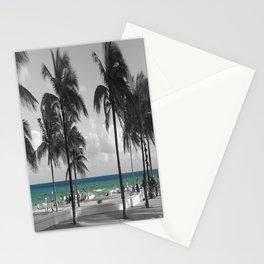 Miami Beach Florida Ocean photography Stationery Cards