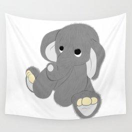 Stuffed Elephant Wall Tapestry