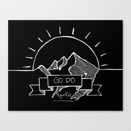 Go Do  Canvas Print