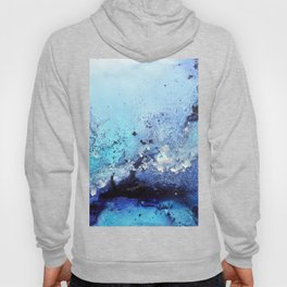 Bermuda Paradise Mixed Media Painting Hoody
