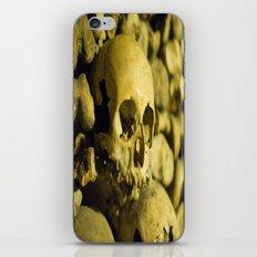 Wall of Bones iPhone & iPod Skin