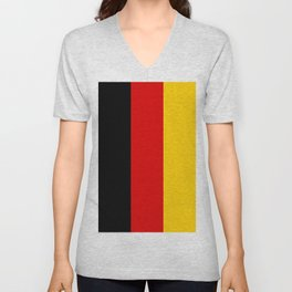 Flag of Germany Unisex V-Neck