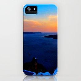 Santorini 26 iPhone Case