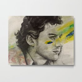 Rei Do Brasil: Tribute to Ayrton Senna da Silva Metal Print