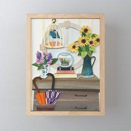 Welcome Home Hall Framed Mini Art Print