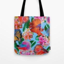 Hawaiian Print III Tote Bag