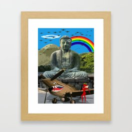 Tourist Season Framed Art Print