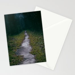 Green Sighs Stationery Cards