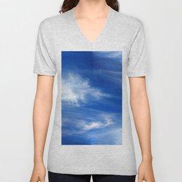 Sky Unisex V-Neck