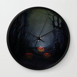 Tardis halloween Wall Clock