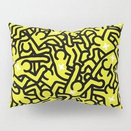 Keith Haring Variation #25 Pillow Sham