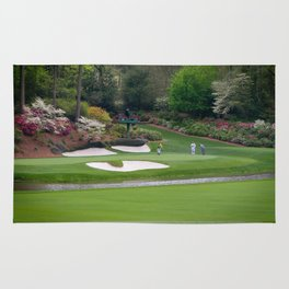 Augusta Georgia Amen Corner Golf Series Sets Rug