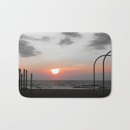Chilly Sunrise Bath Mat