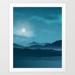 The Full Moon Art Print
