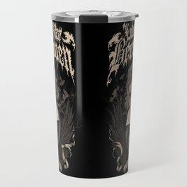 Death Metal Beethoven Travel Mug