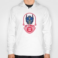 optimus prime Hoodies featuring Optimus by Buby87