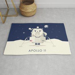 Apollo 11 Space - Lunar Lander Module Rug