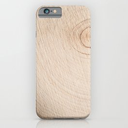 Real Wood Texture / Print iPhone Case