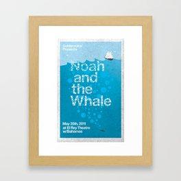 Noah and The Whale Framed Art Print