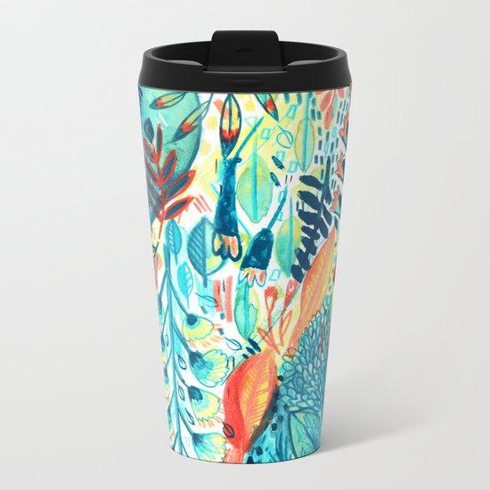Pattern 27 Metal Travel Mug