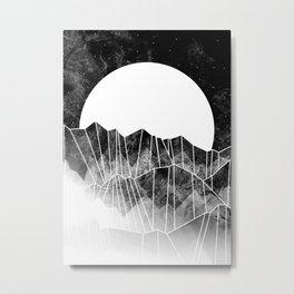 As a mist rolls in... Metal Print
