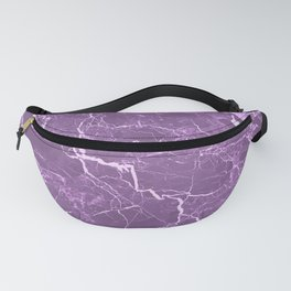 Lavender Rosso Marble Fanny Pack