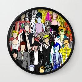 Friends 6 Wall Clock