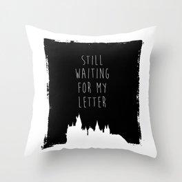 Hogwarts Letter Throw Pillow
