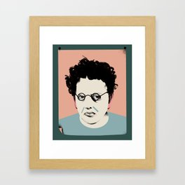 Philip Glass Framed Art Print